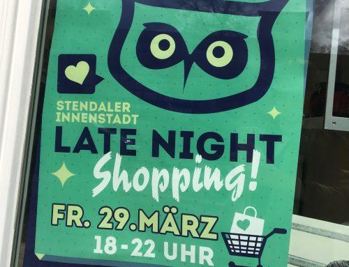 LATE NIGHT Shopping am 29.3.19
