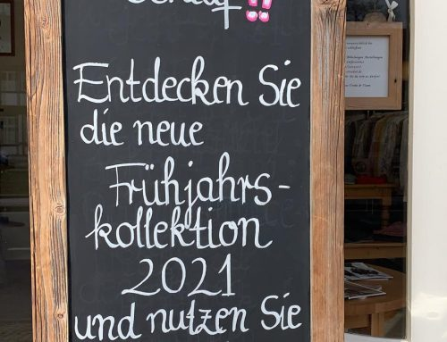 Click&Collect Frühjahrskollektion 2021!
